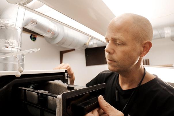 Förbättra luftkvaliteten inomhus med rena ventilationskanaler och underhållna filter